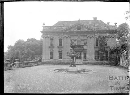 Widcombe Manor, main elevation c.1928