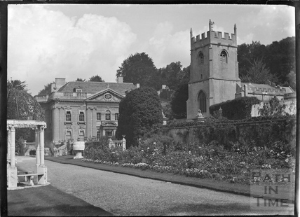 Widcombe Manor and garden c.1928