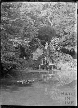 The Cascade and statue of Neptune, Widcombe Manor No.12 c.1935