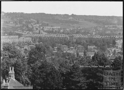 View of Bath from Camden Crescent No. 3, 21 June 1936