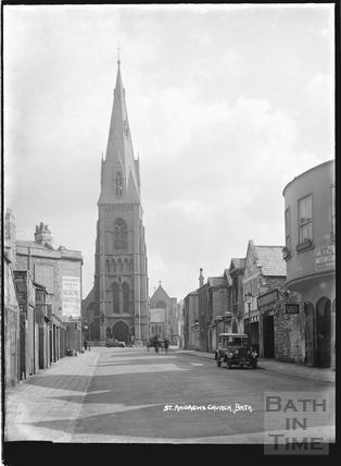 St. Andrew's Church, Julian Road, Bath c.1930