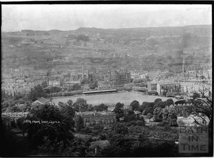View of Bath from Sham Castle No.1 c.1930s