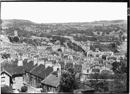 View of Bath from Camden Crescent No. 1?, 21 June 1936