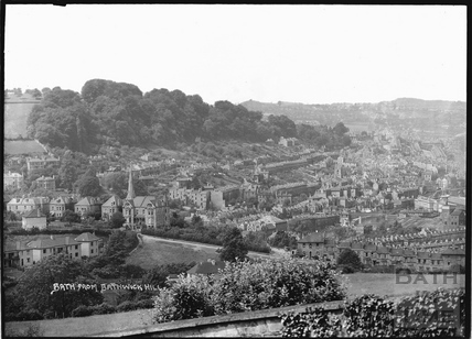 View of Bath from Bathwick Hill c.1930