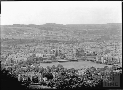 View of Bath from Sham Castle No.2 c.1930s
