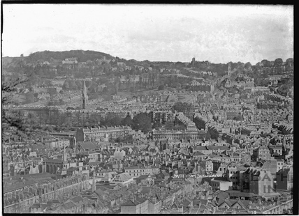 View of Bath from Beechen Cliff No.2, c.1930