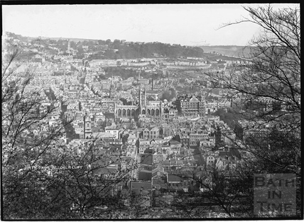 View of Bath from Beechen Cliff No1., c.1930