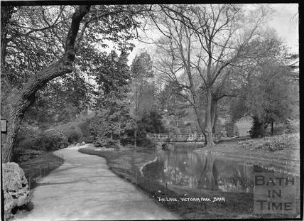 The Lake, Royal Victoria Park, c.1937