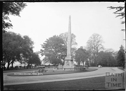 The Victoria Column, Royal Victoria Park, 2 May 1937