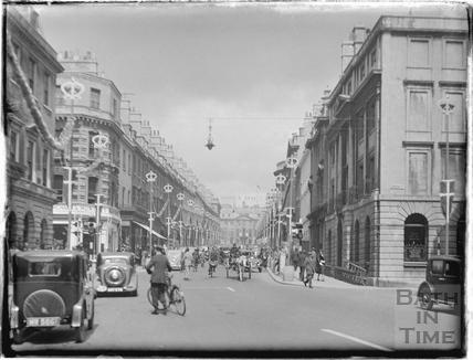 Milsom Street, May 1937
