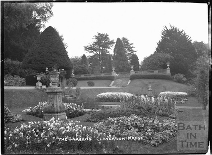 The Gardens, Claverton Manor c.1920s?