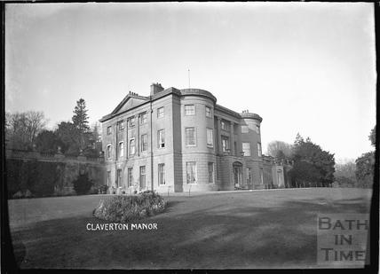 Claverton Manor c.1920s?