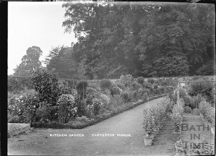 The Kitchen Gardens, Claverton Manor c.1920s?