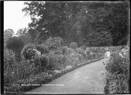 Kitchen Garden, Claverton Manor c.1920s?
