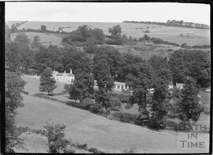 View of farm buildings in Charlcombe c.1920s