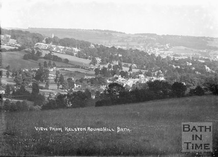 View of Bath from Kelston Roundhill, c.1935