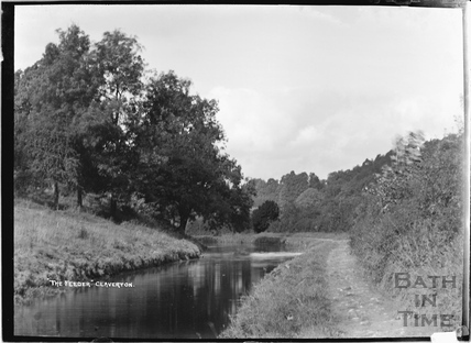 The Feeder, Kennet and Avon Canal, Claverton c.1920