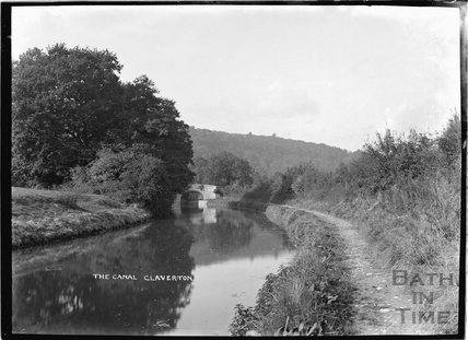 The Kennet and Avon Canal, Claverton c.1920