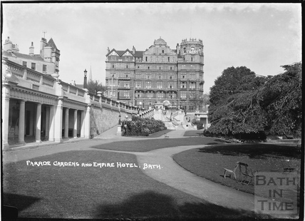 The Empire Hotel and Parade Gardens, 1934