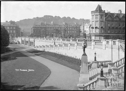 The Parade, Parade Gardens, 1934