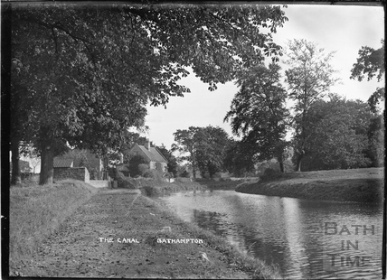 The Canal, Bathampton c.1920