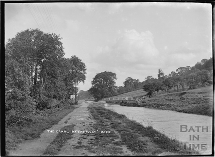 The Canal near the Folly Inn, Bathampton c.1920
