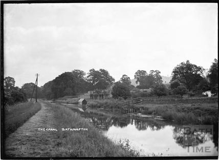 The Canal, Bathampton c.1920