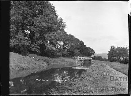 The Kennet and Avon Canal, Bathampton c.1920