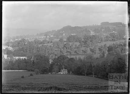 View across to Bathwick Hill c.1920s