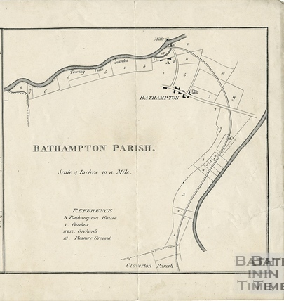 Plan of Bathampton Parish 1794