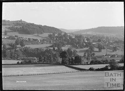 View of Bathford, c.1920s