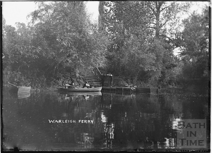 Warleigh Ferry c.1905
