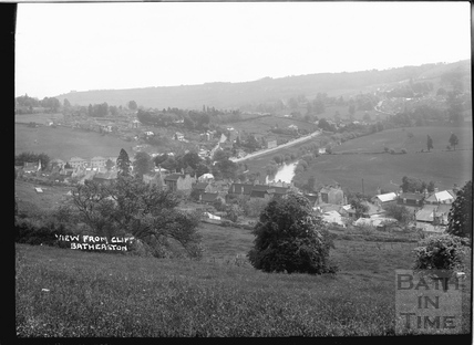 View from Cliff, Batheaston c.1908
