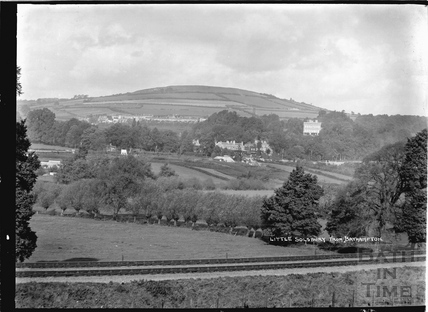 View of Little Solsbury from Bathampton, c.1908