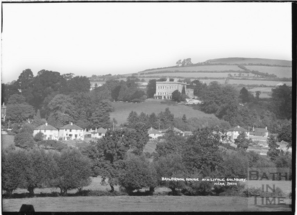 Bailbrook House and Little Solsbury, Batheaston c.1920s-30s