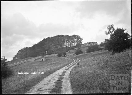 Bath Golf Clubhouse, near Sham Castle, Bathwick c.1908