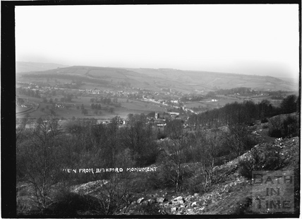 View from Bathford Monument looking northwest, c.1908