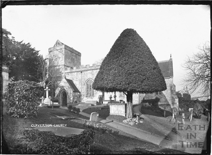 Claverton Church, c.1908