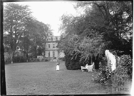 Rear view from the river, Batheaston House, 1922 / 1923