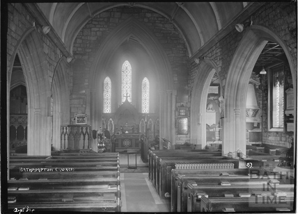 Inside Bathampton Church, Sept 1934