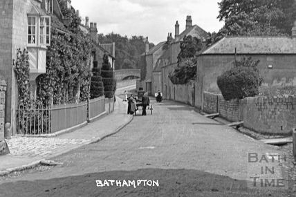 High Street, Bathampton c.1922 - detail