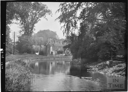 The Kennet and Avon Canal, Bathampton 1922