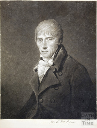 Portrait of John Loudon McAdam (1756 - 1836)
