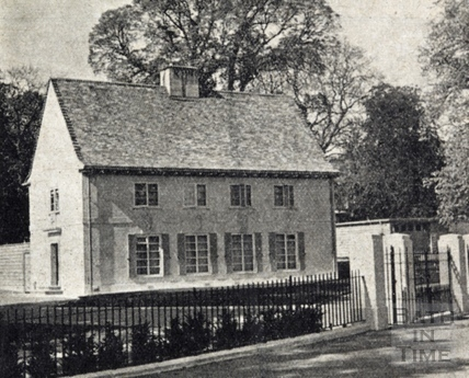 The Park Keeper's House at Alice Park, May 1938