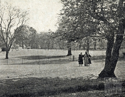 Newly opened Alice Park, May 1938