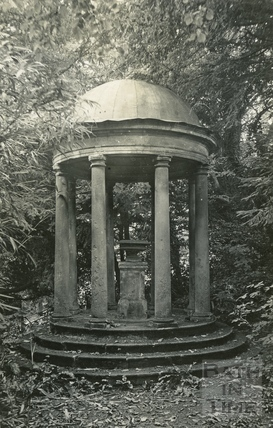 Garden temple in Batheaston Villa c.1950