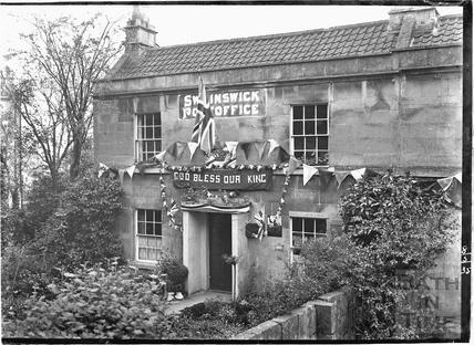 Swainswick Post Office 8 May 1935