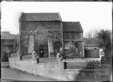 Saxon Church, Bradford on Avon c.1920s