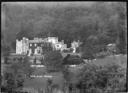 Warleigh Manor, c.1910