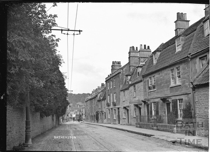 View of Batheaston High Street c.1920s